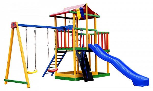 Игровой детской комплекс для улицы