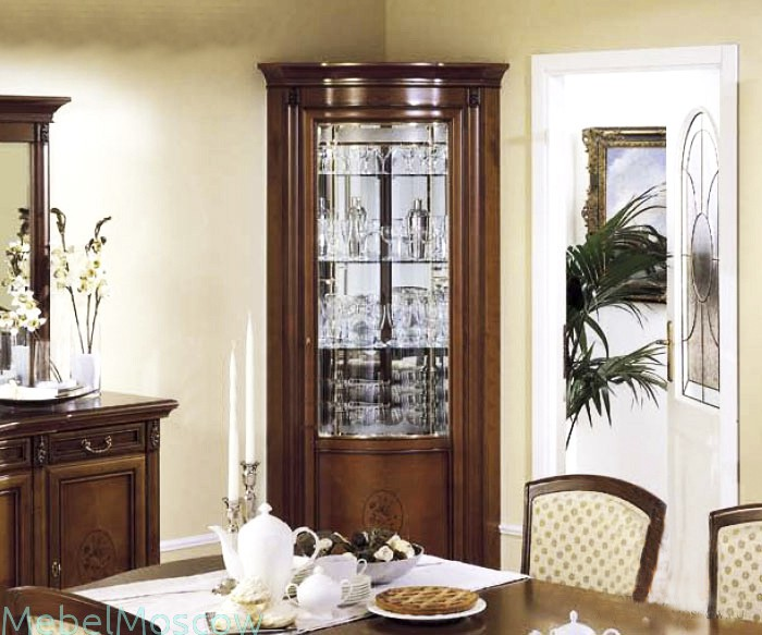 Интерьер гостиной с угловой практичной мебелью