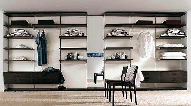 Итальянские дизайнеры разработали великолепную систему для изготовления эксклюзивных гардеробных