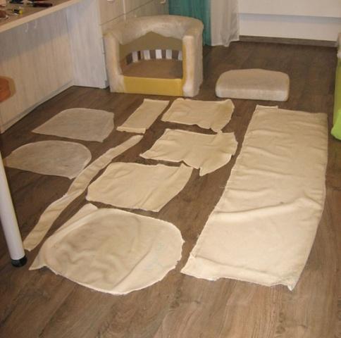 Изготовление лекал для обивки мебели