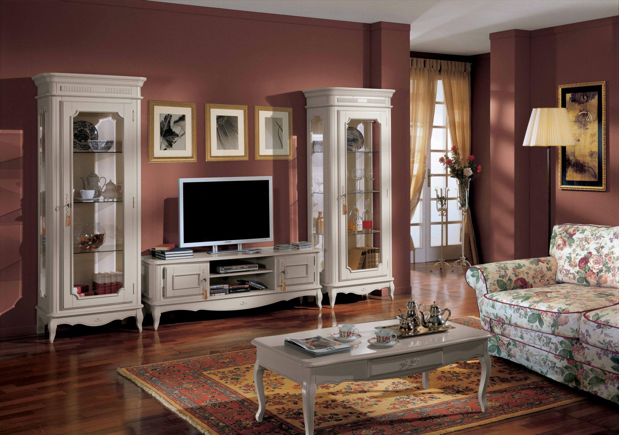 Изящная мебель в гостиную классического стиля