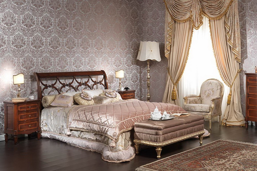 Изящная спальная комната