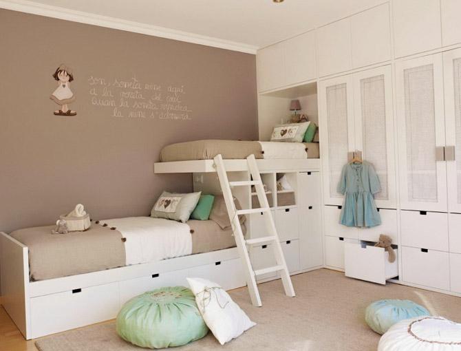 Изящное оформление интерьера комнаты