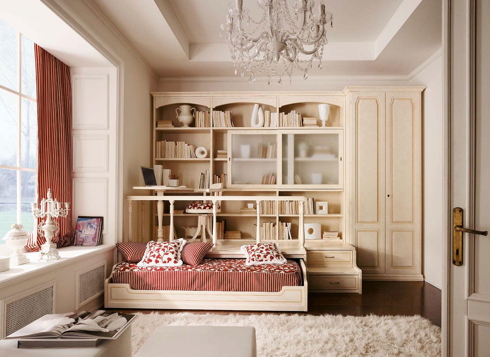 Изысканная детская мебель в стиле прованс