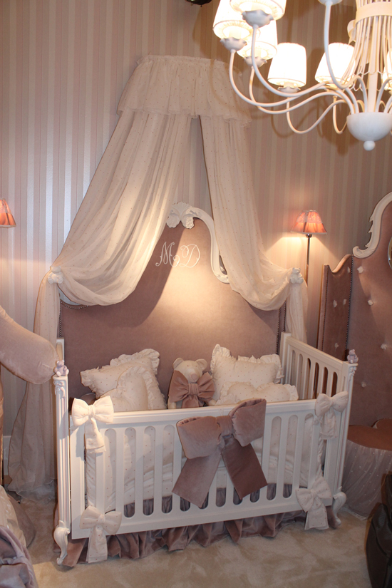 Изысканная итальянская мебель для новорожденного