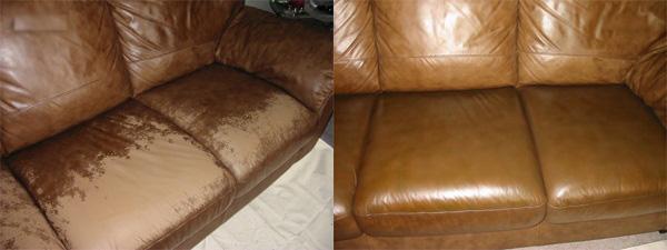 Качественная перетяжка кожаной мебели для дома