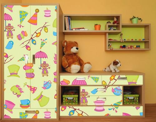 Как быстро изменить мебель с помощью пленки