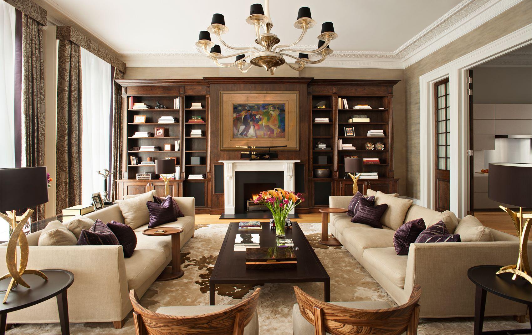 Как лучше расставить мебель в гостинной