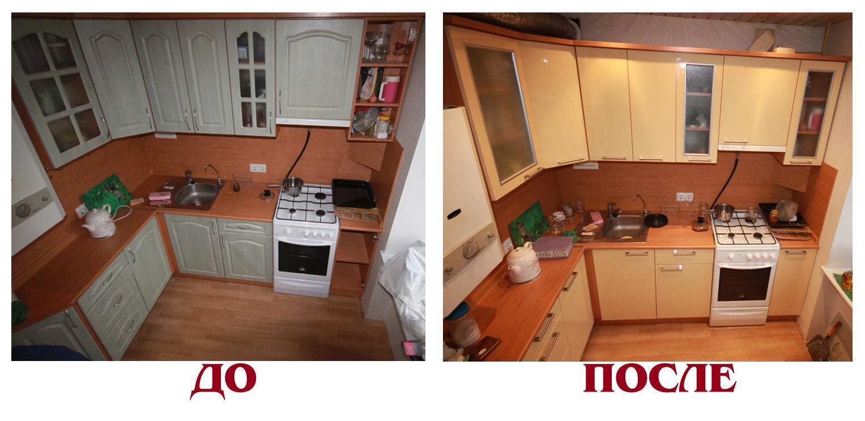 Как отремонтировать кухонной мебели