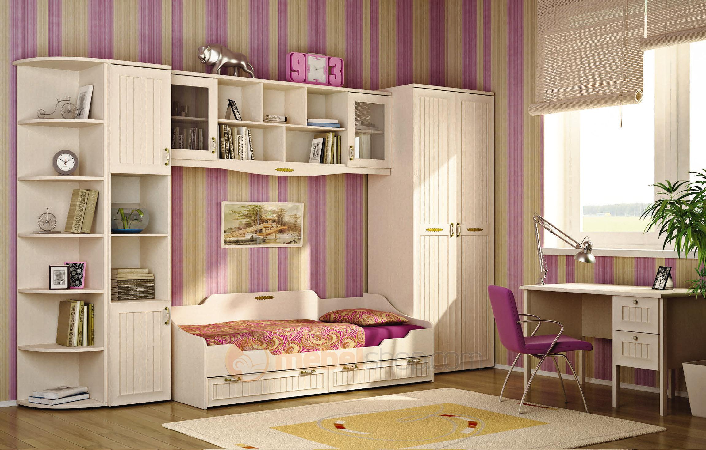 Как подобрать мебель белого цвета для детской