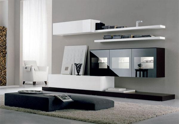 Как подобрать мебель в современном стиле для гостиной комнаты