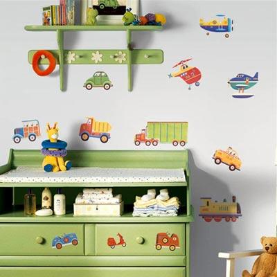 Как провести декорирование детской мебели