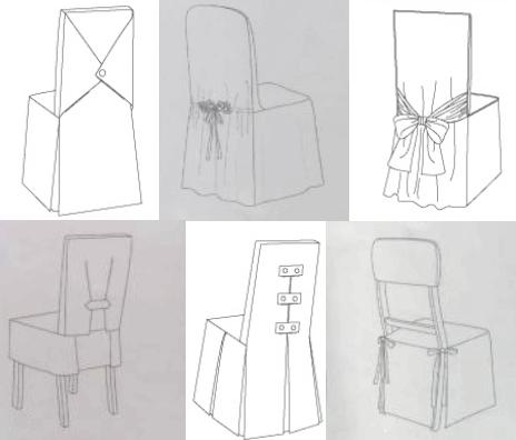 Как сделать декорирование чехлов на мебель
