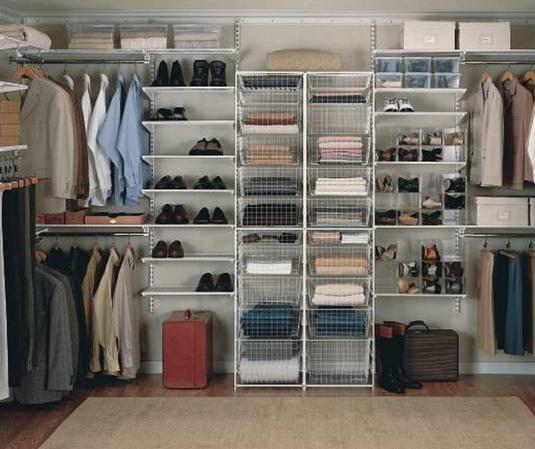 Как сделать гардеробные системы