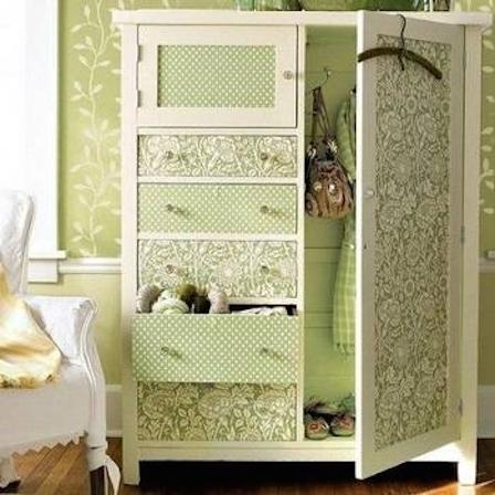 Декор мебели пленкой