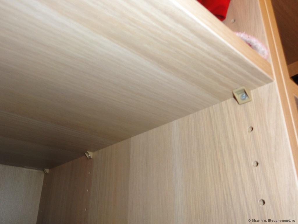 Как создать крепление полок в гардеробе