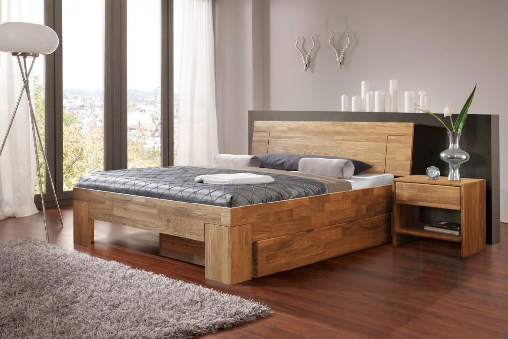 Интерьер из мебельных щитов