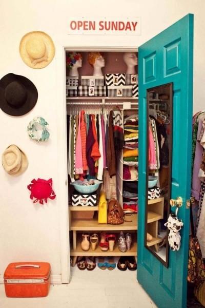 Как создать небольшую гардеробную