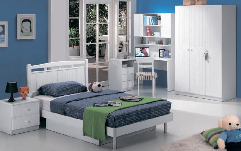 Как выбирается мебель белого цвета для детской