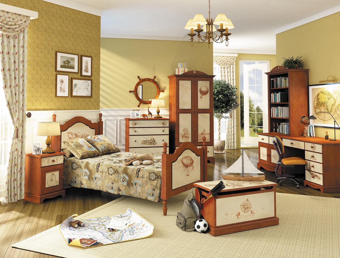 Как выбрать детскую мебель из деревянного массива для дома