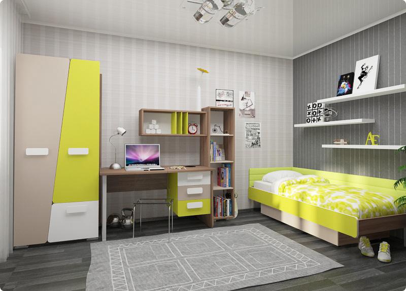 Как выбрать корпусную мебель для детской
