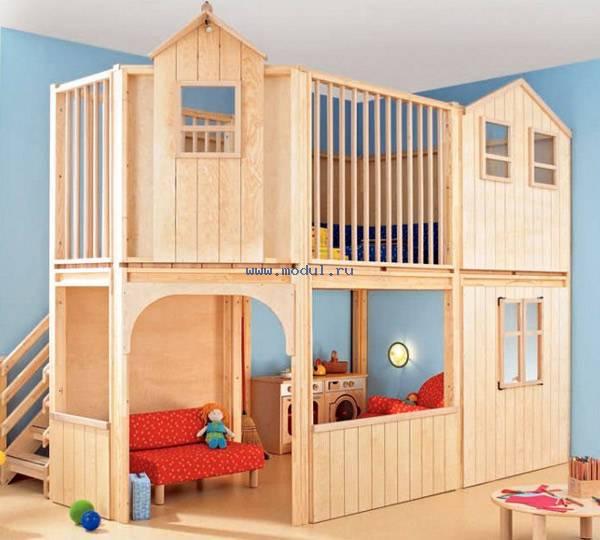 Как выбрать мебель игрового типа для детей