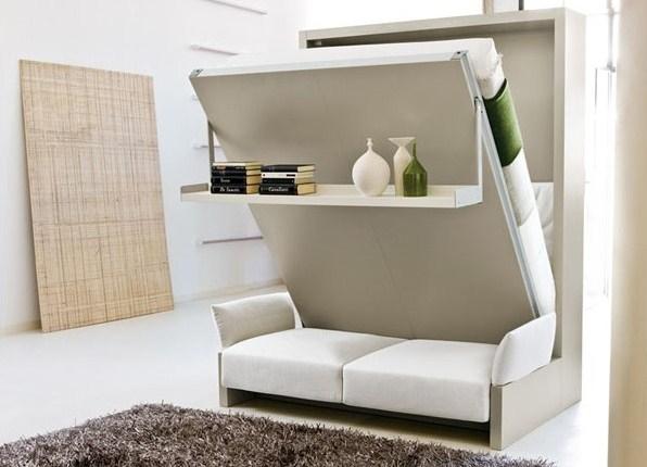 Как выбрать встроенная мебель трансформер в спальню