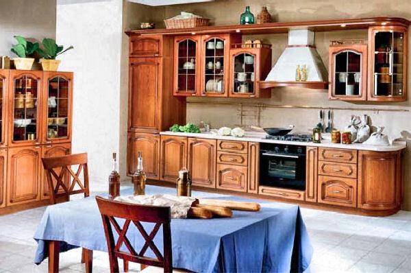 Как выглядит деревянная мебель