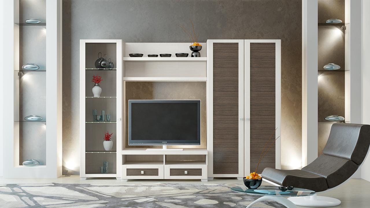 Как выглядит модульная мебель в оформлении гостиной