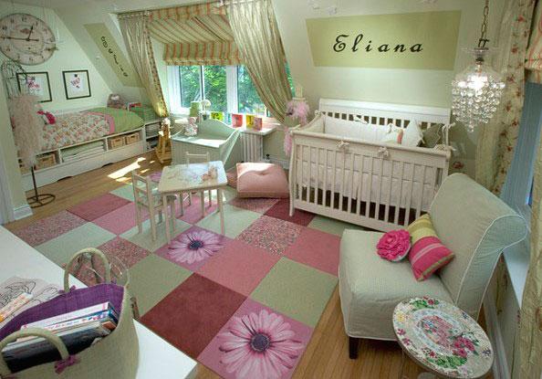 Комната для девочек разных возрастов