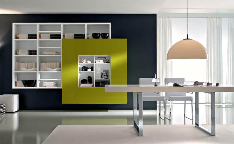 Комната с эффектным дизайном