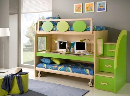 Комната с приятным дизайном