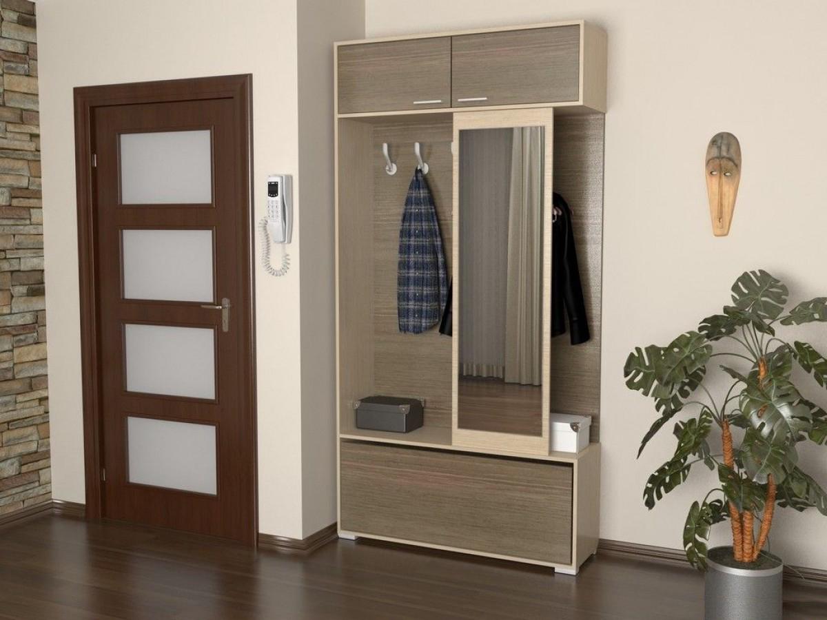 Компактная мебель для маленькой прихожей