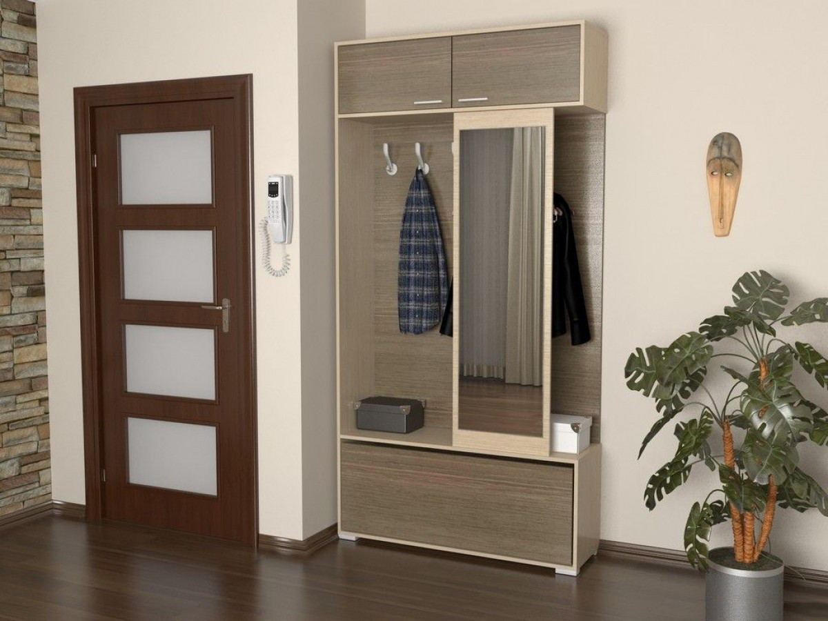 Компактная мебель для малогабаритной прихожей