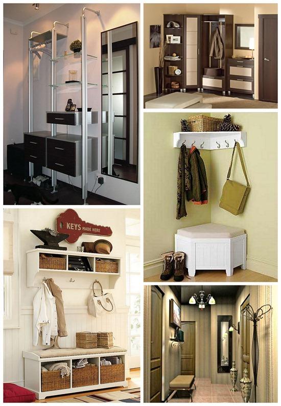 Компактная мебель для обустройства коридора