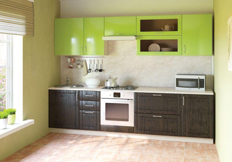 Компактная модульная мебель для кухни