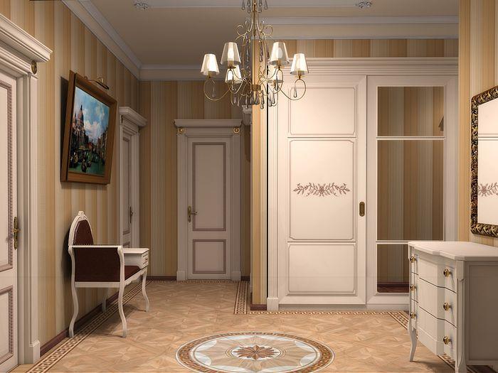 Компактное расположение предметов в комнате