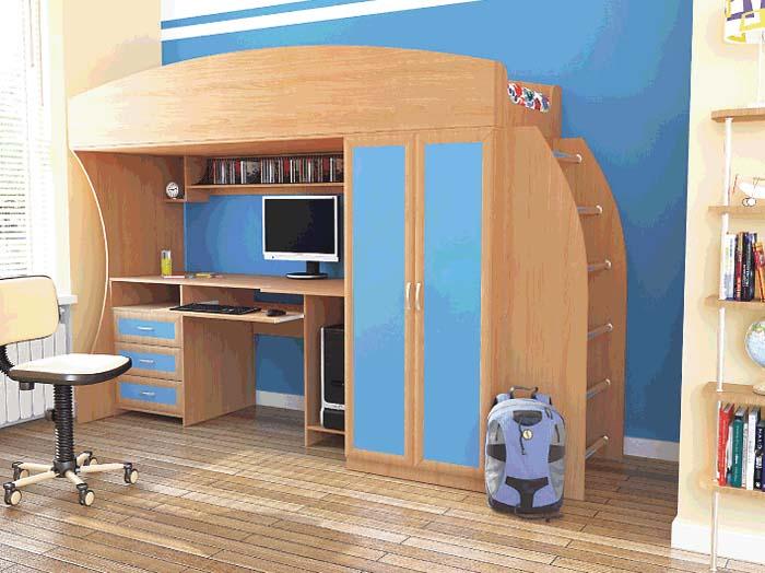 Компактный детский набор мебели