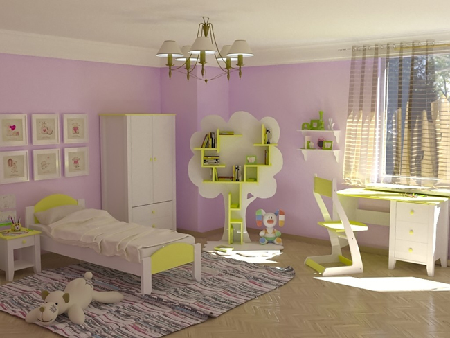 Комплектация набора детской мебели
