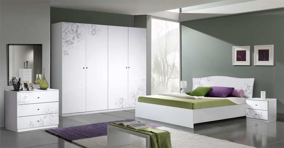 белая мебель для спальни возможные оттенки и правила сочетания