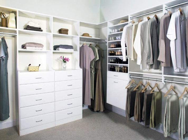 Корпусная гардеробная система