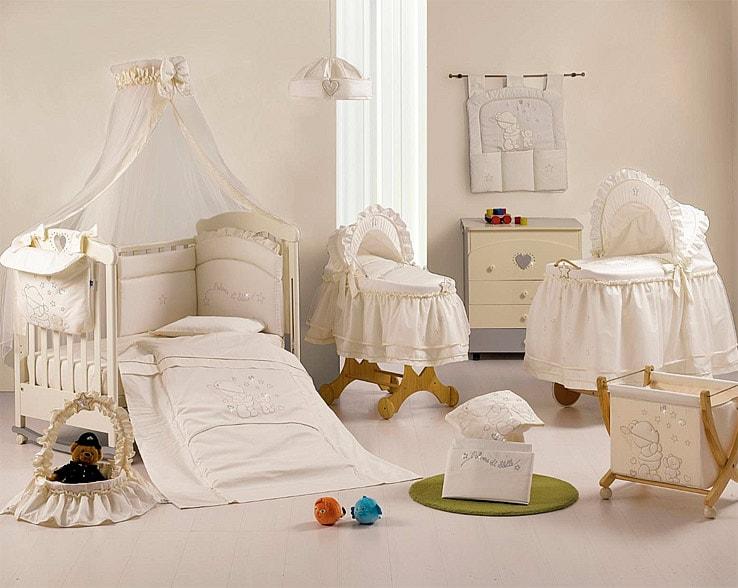 Красивая итальянская мебель для новорожденного