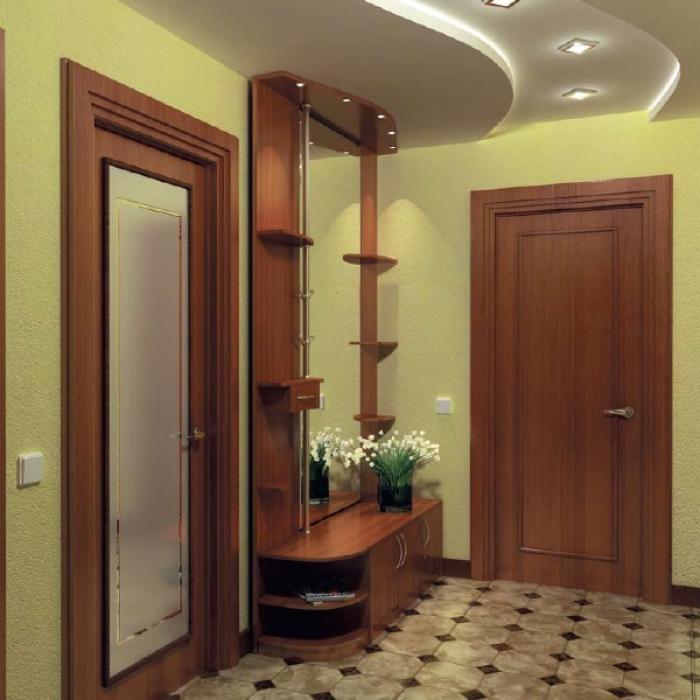 Красивая мебель для небольшого коридора