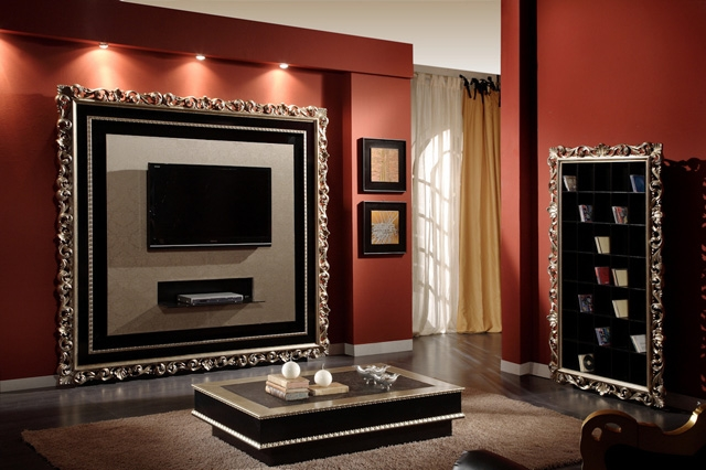 Красивая мебель под телевизор