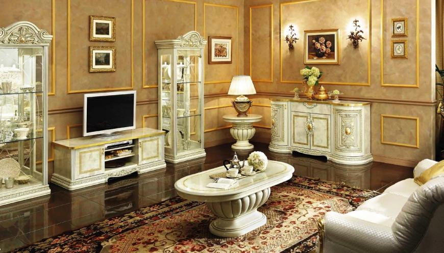 Красивая мебель в гостиную классического стиля