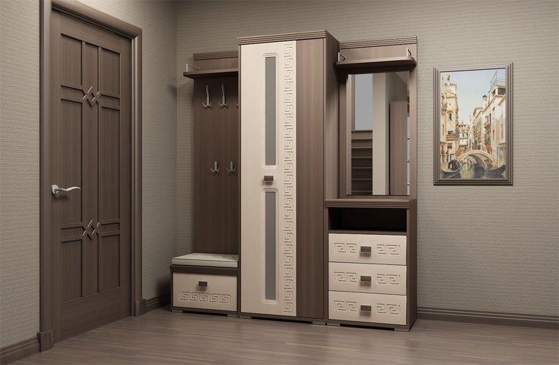 Красивая мебель в коридор