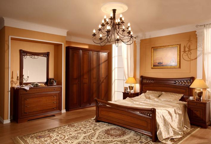 Мебель в коричневых тонах