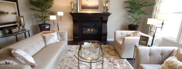 Красивая мягкая мебель для гостинной в современном стиле
