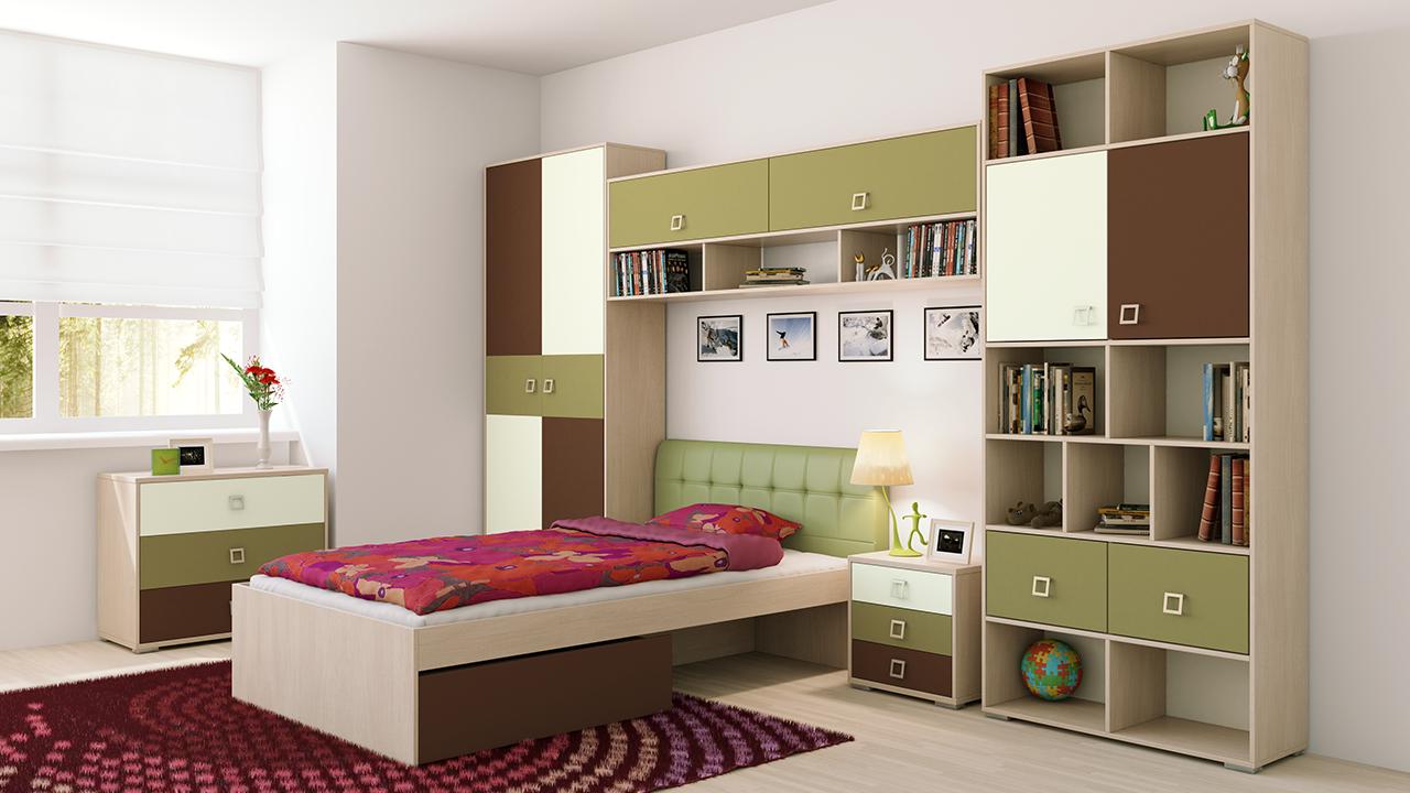 Красивая поверхность современной мебели