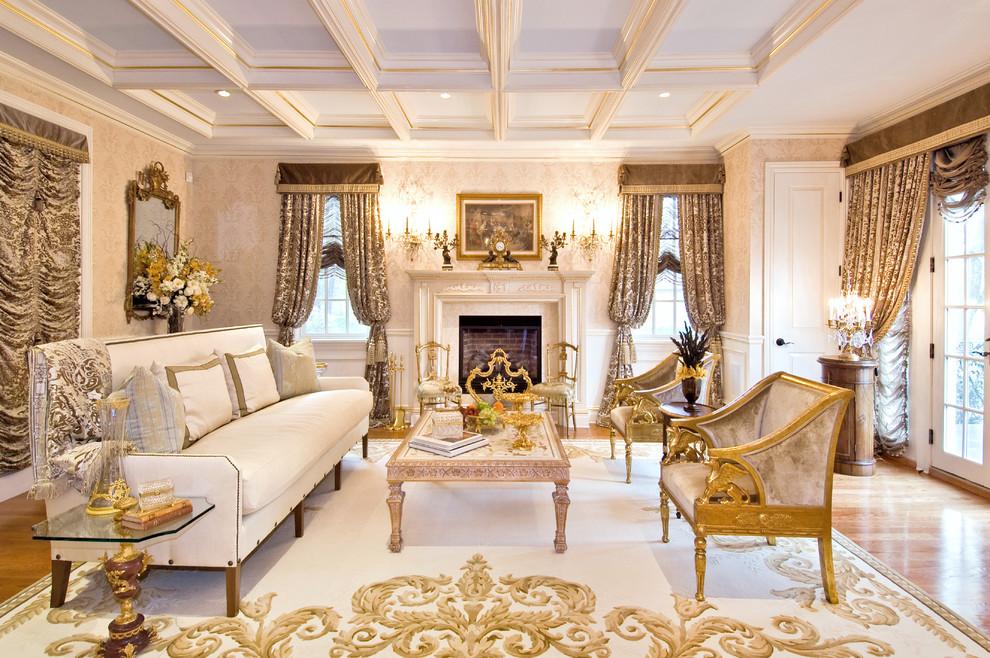 Красивая современная мебель в гостиную классического стиля